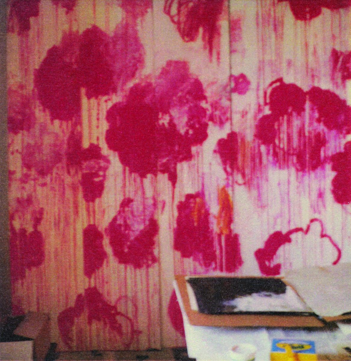 Cy Twombly, »Unfinished Painting« Gaeta 2006 / © 2016 Fondazione Nicola Del Roscio