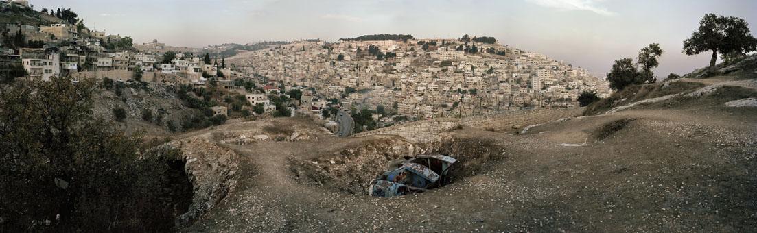 "Andréas Lang ""Tal vor Jerusalem"" / © Andréas Lang"