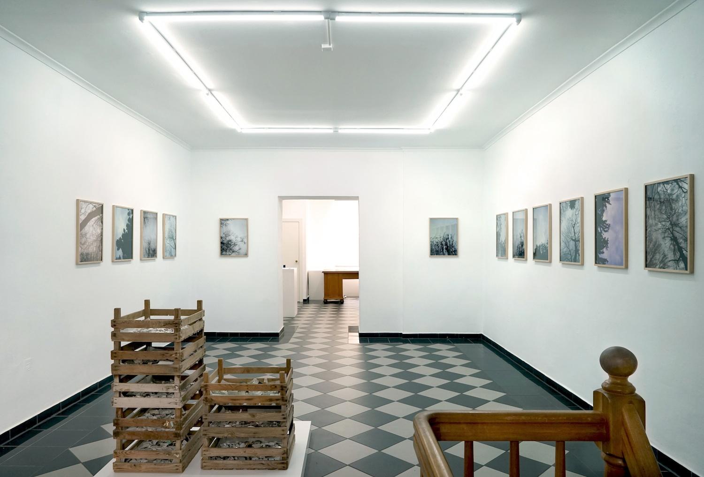 """© Christof Zwiener, Installation view """"Den Trümmern zum Trotze"""" / Courtesy Katharina Maria Raab Galerie, Berlin"""