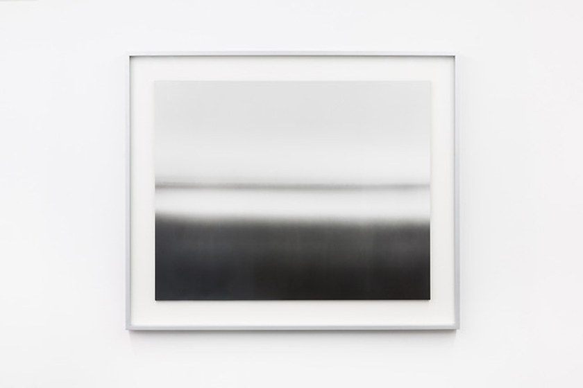 """Isabelle Le Minh: »DK93«, from the series »Darkroomscapes, after Hiroshi Sugimoto«, 2012 / Installation view """"Déjà-vu"""" at Kehrer Galerie, 2018 © Photo: Barbara Eismann"""