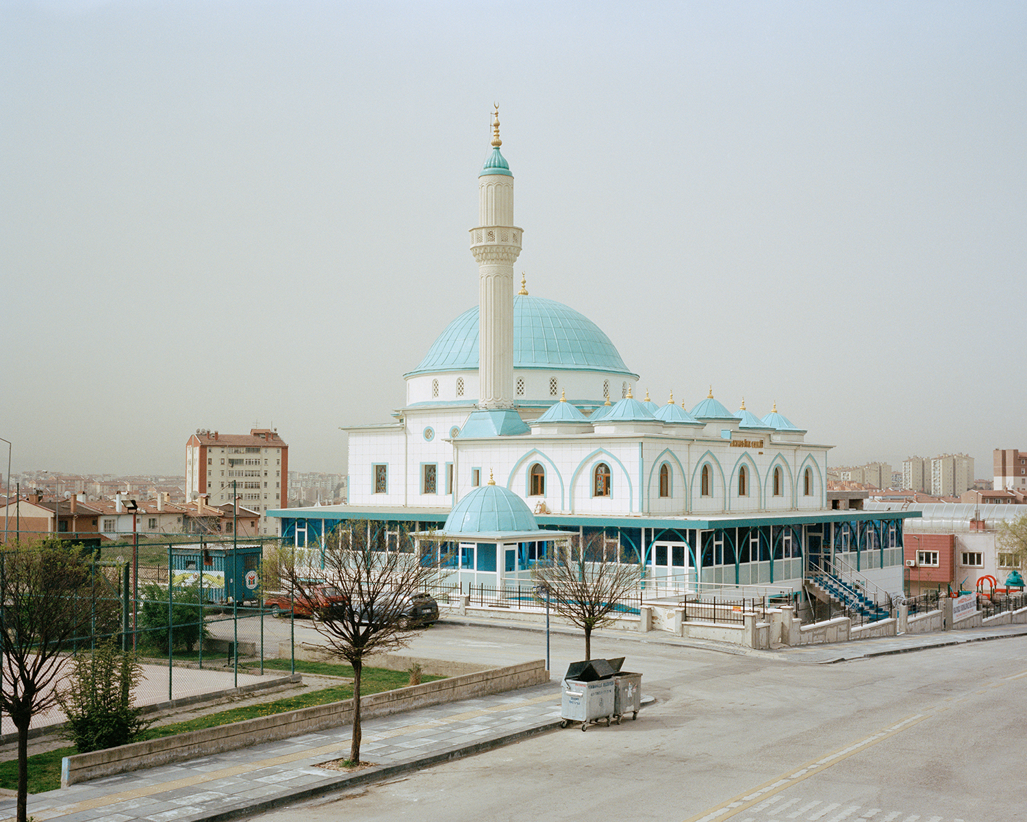 "© Norman Behrendt, from the series ""Brave New Turkey"", Ahmediye Camii - realized in 2015, Batikent, Ankara, 2016"