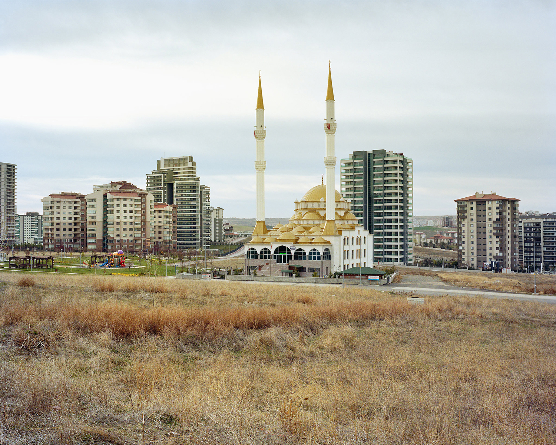 "© Norman Behrendt, from the series ""Brave New Turkey"", Ankara Yaşamkent Nur Camii, realized 2015, Yaşamkent, Ankara"