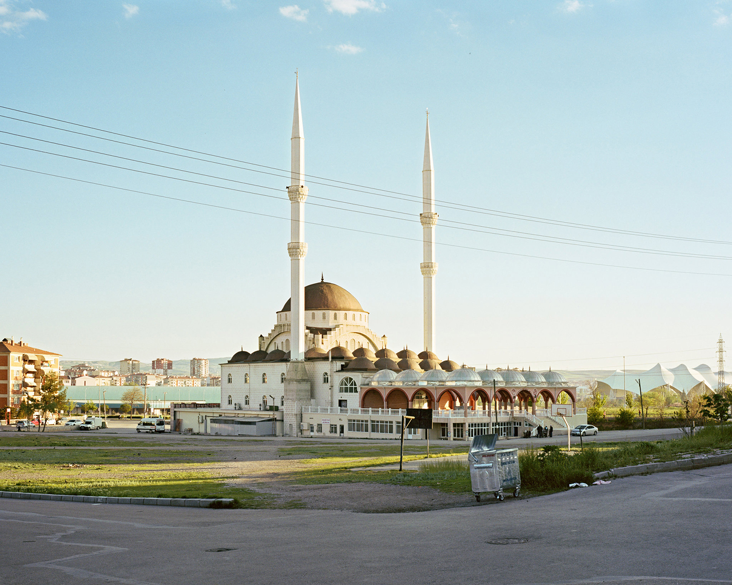 "© Norman Behrendt, from the series ""Brave New Turkey"", Abdülkadir Eylani Camii, realized 2014/15, Sincan, Ankara, 2016"