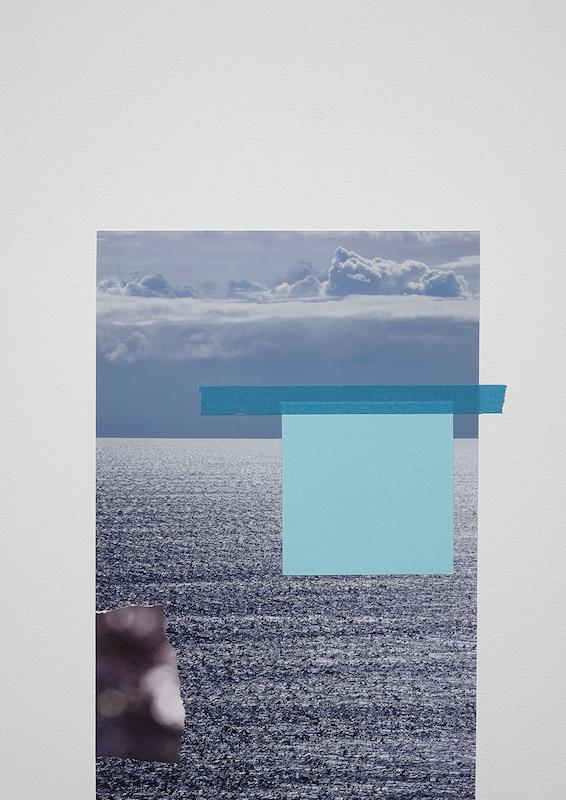 "© Jessica Backhaus, ""New Horizon"", 2017 / Courtesy Robert Morat Galerie"