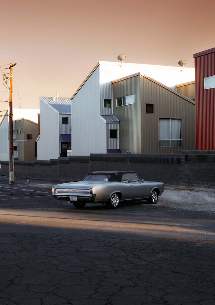 © Stefanie Moshammer, a.d.S. I Can Be Her, The almost new special Car to feel special and appreciated, 2015  / Courtesy C/O Berlin and the artist