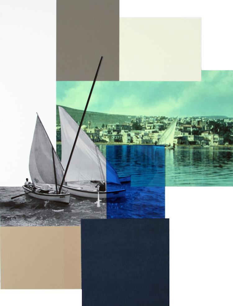 © Hazem Harb, Tiberius #4, C Print, Archival Photography Collage and Plexiglas on fine art paper 2017 / Courtesy Tabari Artspace, Dubai
