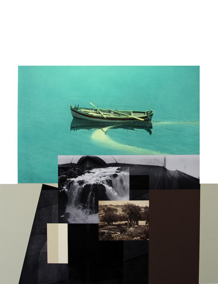 © Hazem Harb, Tiberius #5, C Print, Archival Photography Collage and Plexiglas on fine art paper 2017 / Courtesy Tabari Artspace, Dubai