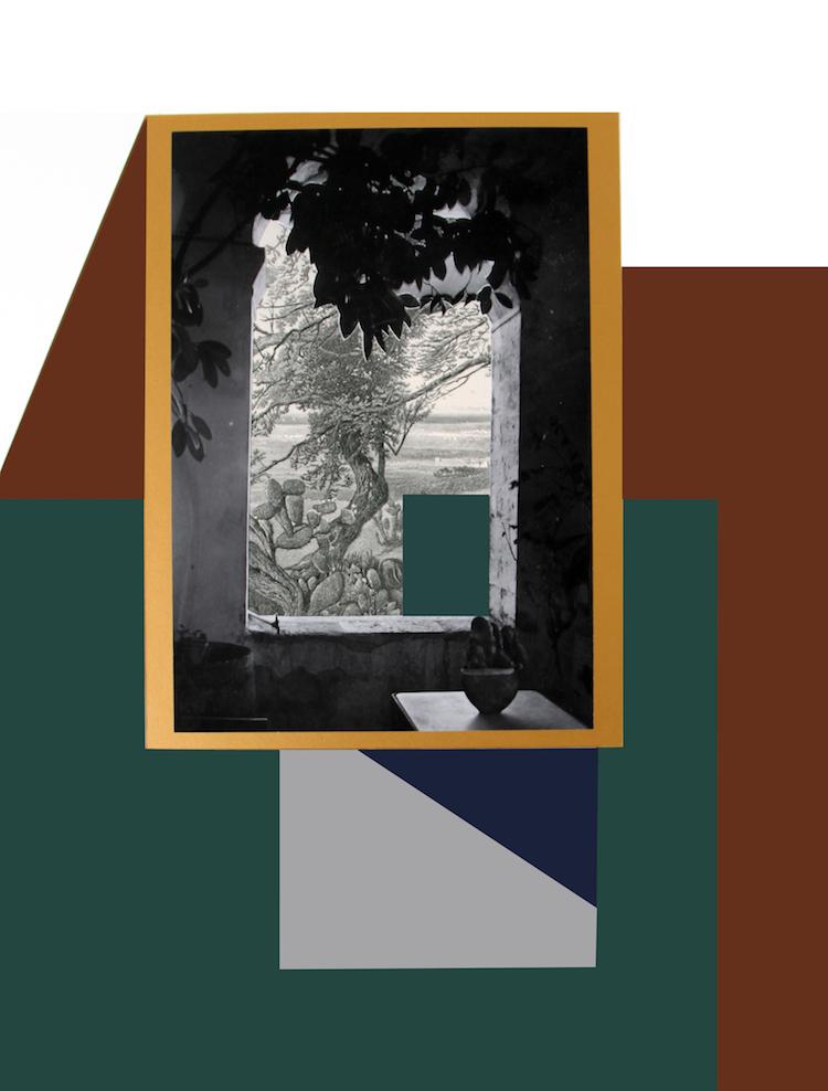 © Hazem Harb, Gaza Series #1, C-Print, Archival Photography Collage on fine art paper on wood, 2017 / Courtesy Tabari Artspace, Dubai