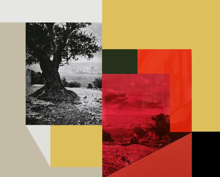© Hazem Harb, This place is mine, C-Print, Archival Photography Collage on fine art paper, 2018 / Courtesy Tabari Artspace, Dubai