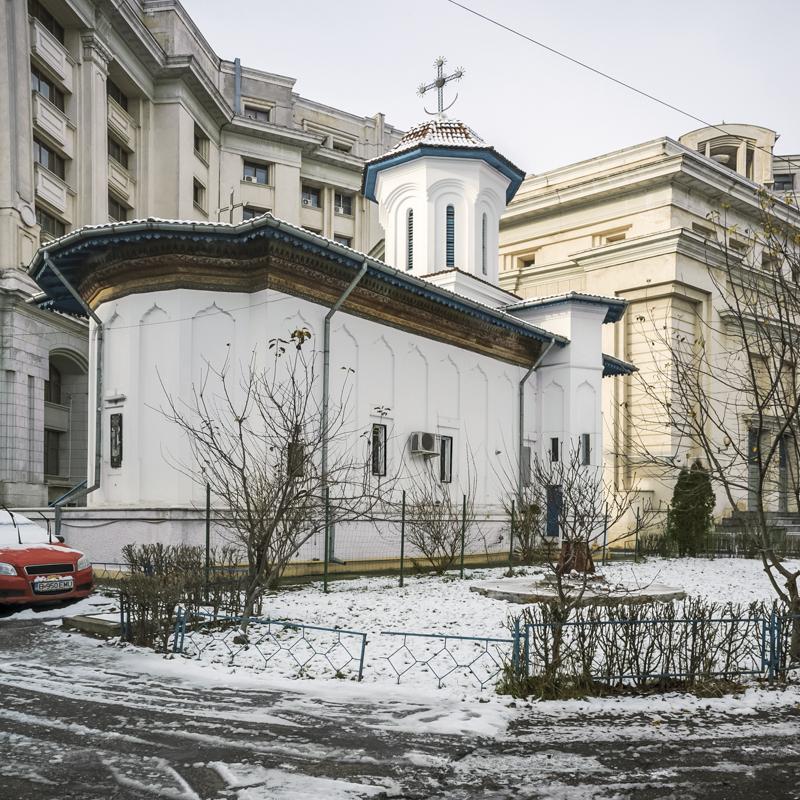 Verkündigungskirche der »Nonnen-Einsiedelei«, Bukarest, Serie Mobile Churches, 2013-2017 © Anton Roland Laub