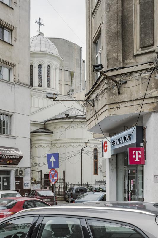 Neuer-Sankt-Johannes-Kirche Bukarest, Serie Mobile Churches, 2013-2017 © Anton Roland Laub