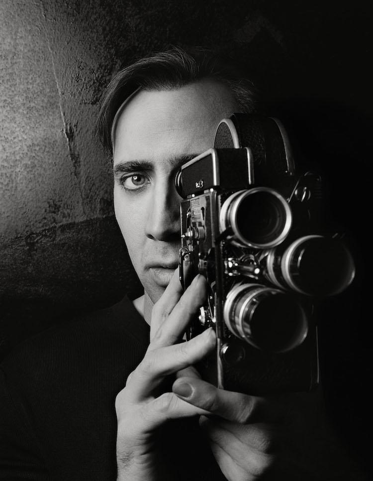 George Holz, Nicolas Cage, Badlands, New York, 1999 © George Holz