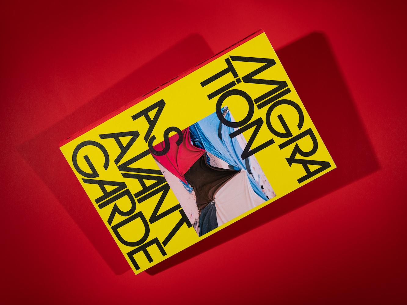 "© Michael Danner ""MIGRATION AS AVANT-GARDE"" / Book Cover"