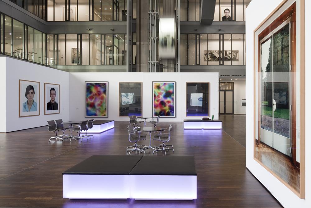 Foyer The Cube © Simon Vogel