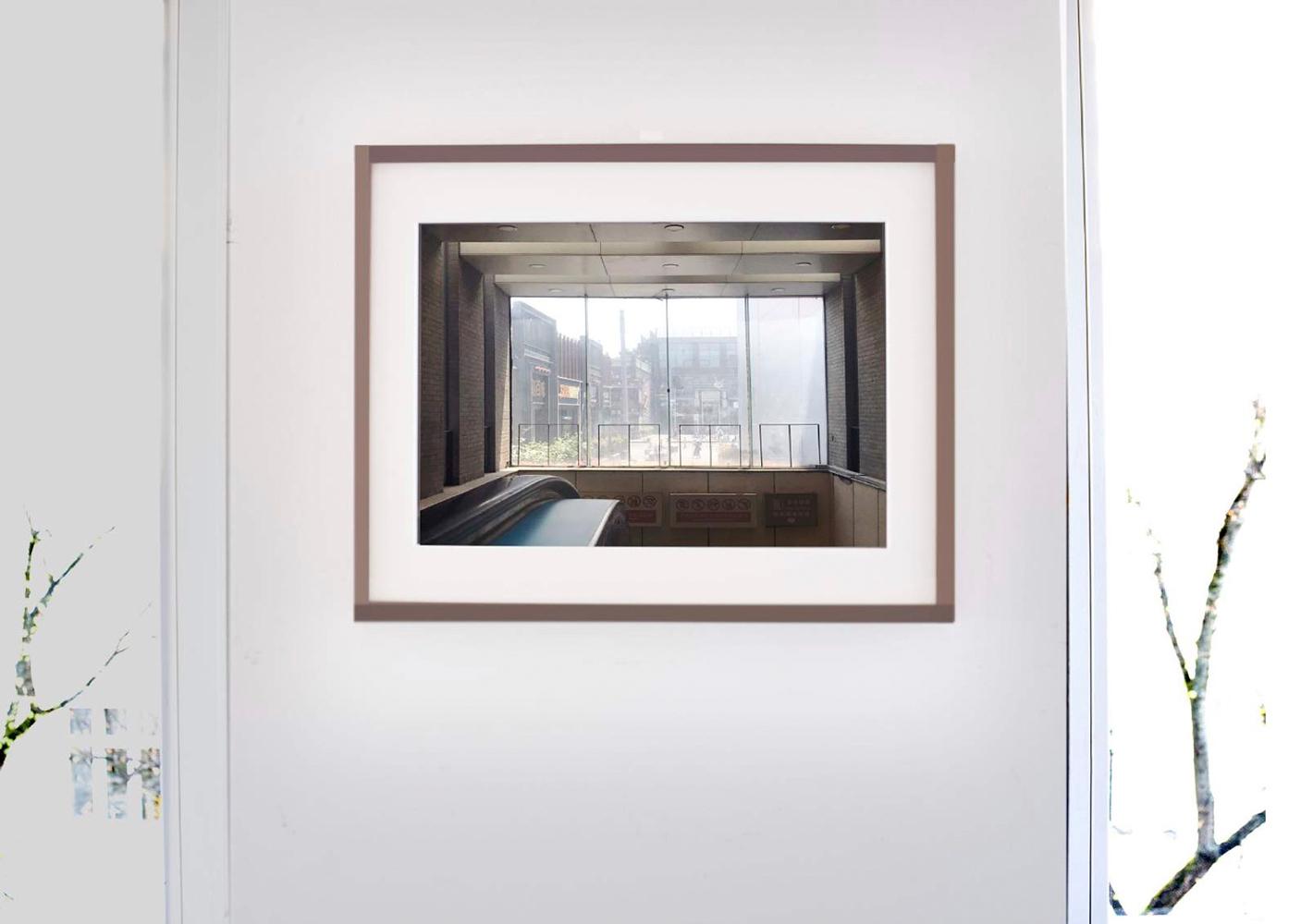 © Anna Lehmann-Brauns, Installation View, Beijing Series, U-Bahn