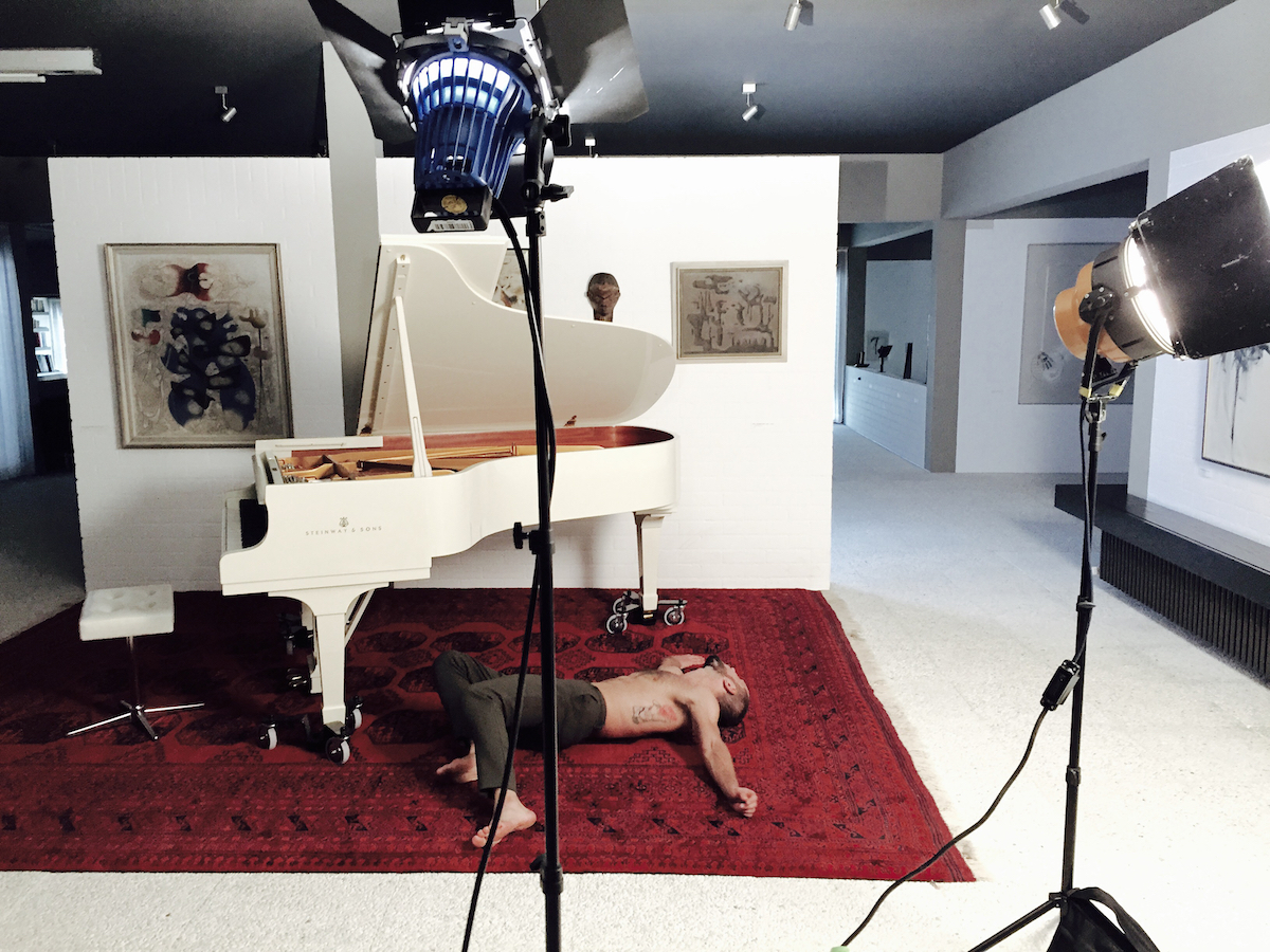 © Johanna Diehl,  MARS, 2019, Filmstill/Making of, Video, Projektion, Farbe, Sound, Dauer: 22 min, Courtesy die Künstlerin und Galerie Wilma Tolksdorf Frankfurt/Berlin