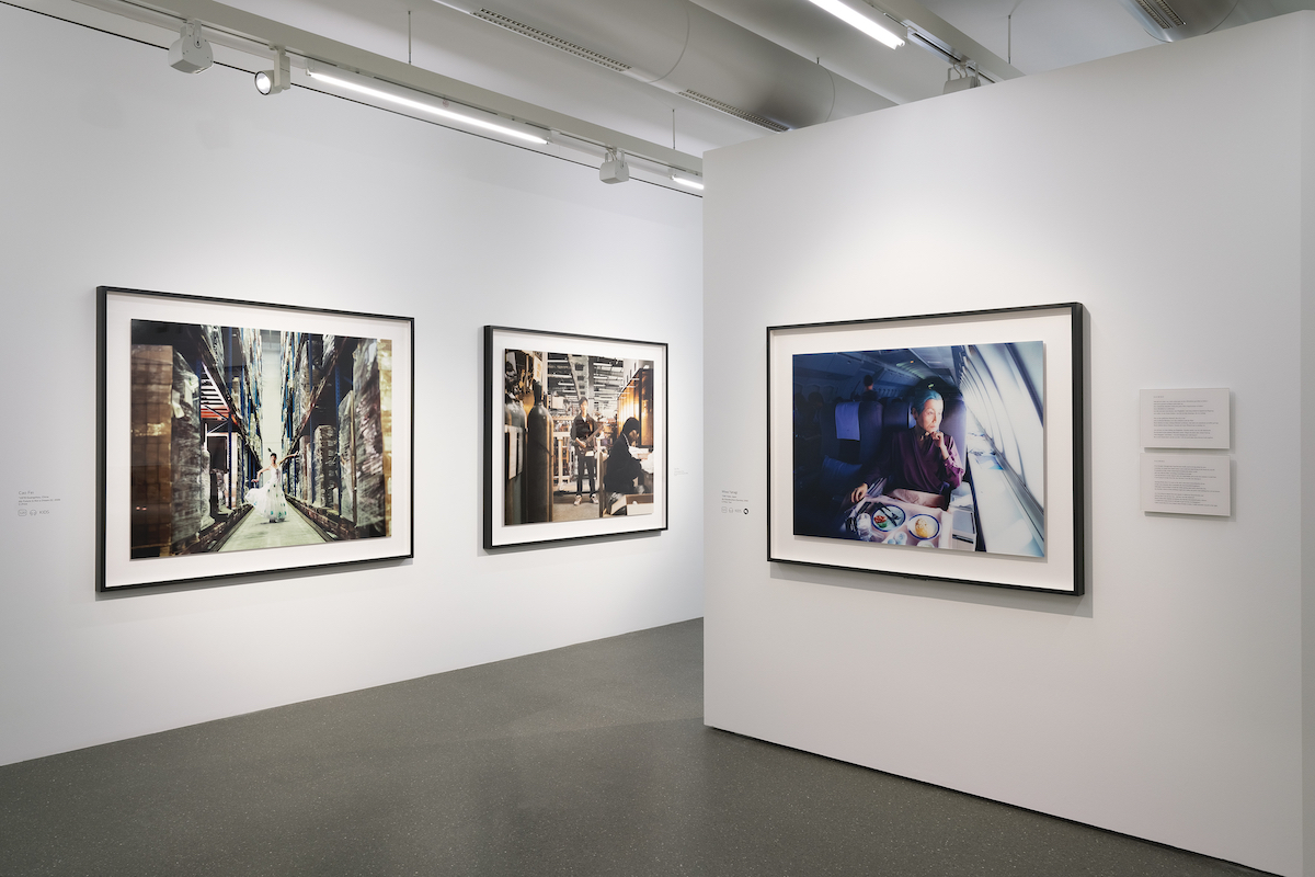 Installation view - Time Present. Photography from the Deutsche Bank Collection (June 10, 2020-February 8, 2021); Miwa Yanagi, My Grandmothers (Sachiko) 2000 © Miwa Yanagi, courtesy of the Loock Galerie, Berlin; Cao Fei, My Future Is Not a Dream 02 2006; My Future Is Not a Dream 04 2006 © Cao Fei, Photo: Mathias Schormann
