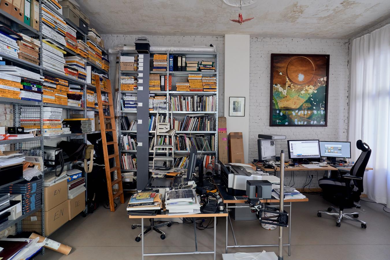 Harf Zimmermann Studio / © Uwe von Loh