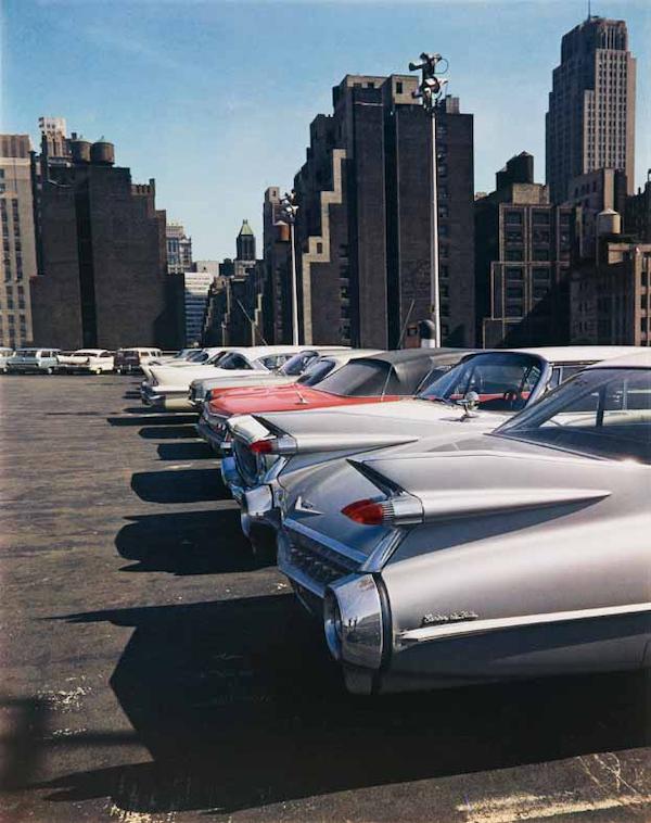Evelyn Hofer Car Park, New York 1965 © Estate Evelyn Hofer, courtesy Galerie m, Bochum