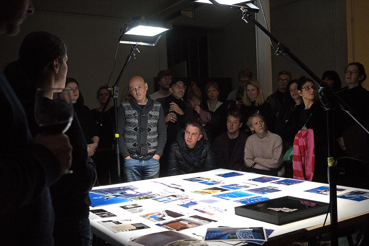 Präsentation Katrin Ganser, Fototreff Show + Tell #26 / © Fototreff Berlin 2014-2020