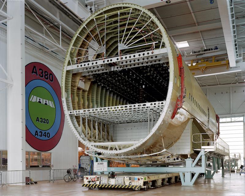 Mark Power, Building the Airbus A380, Saint- Nazaire, France, 2004 © Mark Power/Magnum Photos